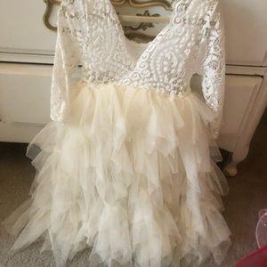 Other - Toddler Flower Girl Dress 2T